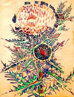 Thistle by Walter Anderson