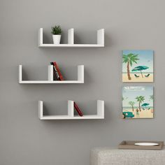 U Model Wall Shelves