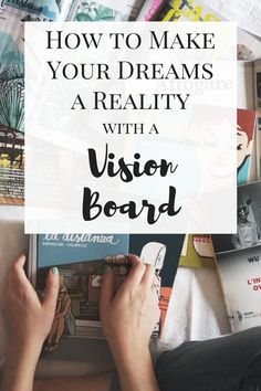 10 DIY Vision Board Ideas that Will Inspire You to do Great Things This is EXACTLY what I wanted - amazing DIY vision board ideas! Great ideas for inspiration for how to make vision boards and setting goals! Must pin! Working Mom Tips, Goal Board, Creating A Vision Board, How To Plan, How To Make, Dreaming Of You, Inspirational Quotes, Motivational, Resolutions