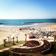 View to the Hertzilia Beach from Dan Accadia Dan, Social Media, Beach, Instagram, Seaside, Social Networks
