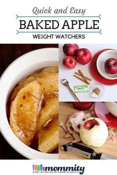 Looking for an easy baked apple recipe? This recipe can be whipped in the microwave and will become a favorite at 0 Weight Watchers Freestyle Points! Perfect on Weight Watchers or any other low calorie diet. Microwave Baked Apples, Easy Microwave Recipes, Easy Baked Apples, Low Calorie Baking, Low Calorie Recipes, Calorie Diet, Ww Recipes, Apple Recipes, Cooking Recipes