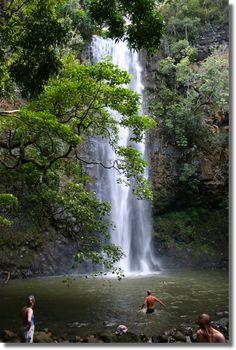 Wailua River Secret Falls, worth the hike!