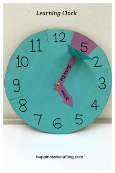 (adsbygoogle = window.adsbygoogle || []).push({}); Here is an educational craft project for kids – Learning Clock. This can be easily made at home and help your kids understand how the minute…