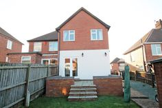 Extended semi-detached house with 3 bedrooms plus dressing room/study & bathroom with separate shower complimented by a spacious lounge, dining area with French doors, large kitchen with. Semi Detached, Detached House, Nottingham, French Doors, Dining Area, Cabin, Mansions, House Styles, Home Decor