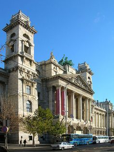Ethnography Museum in Budapest, Hungary