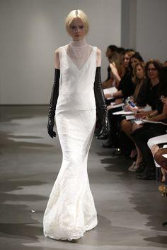 Love This Dress!!  Vera Wang | New York Bridal Fashion Week 2014 | onefabday.com