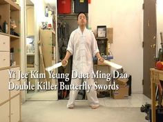 Gwongzhau Wing Chun Butterfly Swords- It's always interesting to see the various interpretations. Bruce Lee Wing Chun, Butterfly Swords, Martial Arts Movies, Lineage, Kung Fu, Wings, Animal, Coat, Quotes