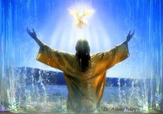 Jesus baptism | Jesus Christ love resurrection life