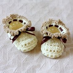 Crochet Baby Bootie Patterns - links to many different patterns
