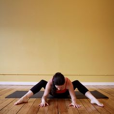 The Hip Stretch Missing From Your Life: When your lower back is sore from running or sitting all day, here's a relaxing stretch to target that area and open the hips.