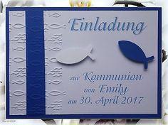 Details Zu Einladungskarte Kommunion Konfirmation Taufe Firmung Danksagung  Einladung Karte