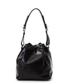 Louis Vuitton Black Petit Noe Shoulder Bag - Vintage