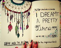 Sleep with the journal #wreckthisjournal