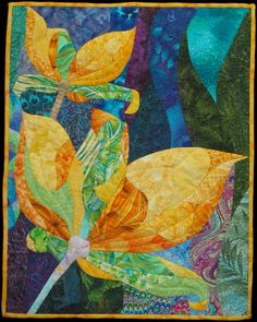 "Two Yellow Flowers, ~19 x 15"", by Vanessa Brisson 