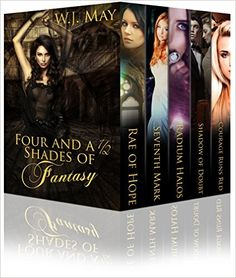 Four and a Half Shades of Fantasy: 4 Paranormal Romance & Urband Fantasy Books; including vampire, werwolves, witches, tattoos, supernatural powers and more, W.J. May, Book Covers by Design - Amazon.com