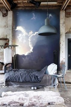 Современные промышленные спальней