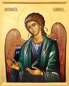 Prayers to ask for the protection of Holy Archangels - http://findingthewaytotheheart.blogspot.ro/2010/12/holy-archangels-prayers-asking-for.html (icon: Archangel Gabriel)