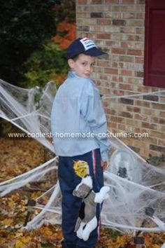 coolest homemade us mailman costume - Coolest Kids Halloween Costumes