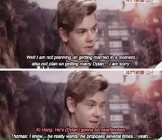 Oh, poor Dylan..