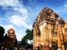 The Po Nagar complex  .  .  .  .  #vietnam #nhatrang #temple #religion #tower #complex #architecture #sky #buddhism