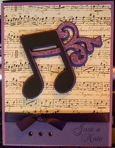 Quarter Note...i love making things like this.
