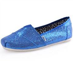 e7904611c557 Blue Toms Glitters Women s Shoes Sequin Shoes