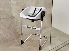 Super handige bad/douche stoel voor als je zonder stress wilt badderen of douchen met de kleine.