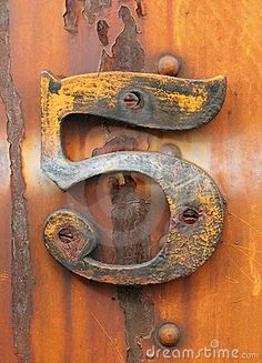 Photo about Grungy number five affixed to rusty industrial metal. Image of vintage, metal, fashioned - 12691665 Rust Never Sleeps, Rust In Peace, Bulletins, Peeling Paint, Rusty Metal, Art Abstrait, Alphabet And Numbers, Texture, Mellow Yellow