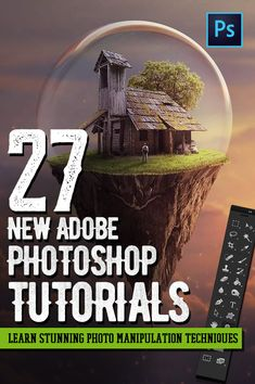 Photoshop Tutorials: 27 New Tutorials to Learn Photo Manipulation Techniques Photoshop Video, How To Use Photoshop, Lightroom Tutorial, Photoshop Design, Adobe Photoshop, Photoshop Elements, Photo Manipulation Tutorial, Manipulation Techniques, Affinity Photo