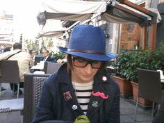 Vanna Vinci con cappello a Catania!