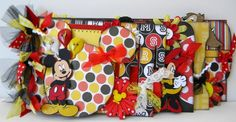 Mickey Mouse chipboard album. Gorgeous!