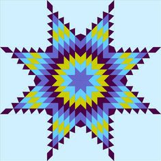 QuiltSue of QuiltTime s is hosting a QAL for a Lone Star quilt on the first Saturday of each month. It& intended as a self help group s. Lone Star Quilt Pattern, Barn Quilt Patterns, Star Quilt Blocks, Star Quilts, Star Patterns, Blue Quilts, Quilting Templates, Quilting Designs, Quilting Ideas