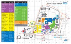 A map of Milton Keynes Hospital, who we have a clinical partnership with Milton Keynes, Medical School, Clinic, Foundation, Medicine, University, Teaching, Map, Hospitals