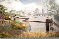 Heatherwick Releases Updated Images for London's 'Garden Bridge'