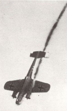 During the 'Battle of Britain' a shot down Dornier Do17