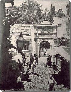 Eyüp Sultan camii 1880'ler