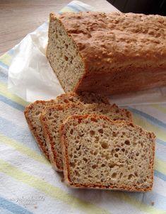 Meg's Handmade: Chleb bezglutenowy #2 (idealny!) Dairy Free, Gluten Free, Food Map, Banana Bread, Food And Drink, Meals, Recipes, Foods, Glutenfree