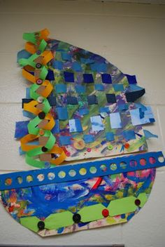 PAINTED PAPER: Recycled Boats