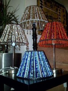 Beaded Lamp Shades - CraftStylish