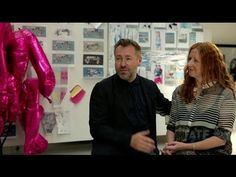 Fashion meets Art - Preen inspired by David Hockney - YouTube