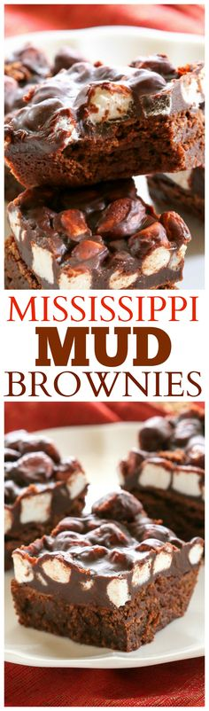 Mississippi Mud Brownies - this is the recipe you want to make. It's perfection! www.the-girl-who-ate-everything.com