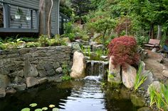 Beautiful #fountain #garden water elements