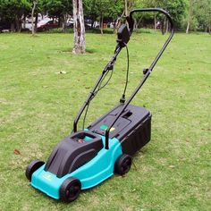 Cheap 1000W hand push lawn mower electric grass trimmer small household lawnmower