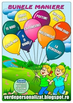 REGULI  ESENTIALE  DE  ETICHETA!... Kindergarten Activities, Preschool, Romanian Language, English Book, School Lessons, After School, Kids Education, My Children, Kids And Parenting