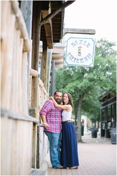 Brian & Sarah's Aggieland Engagement Session