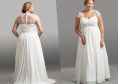 Plus size wedding dresses size 32 - http://pluslook.eu/party/plus-size-wedding-dresses-size-32.html. #dress #woman #plussize #dresses