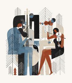 New Yorker: Aspen - Keith Negley