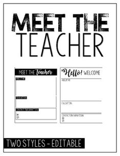 The 25+ best Teacher introduction letter ideas on