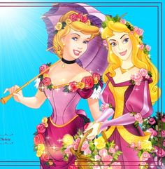 I love the Princesses in new gowns!  Cindy's is so unlike her usual look, it's really stunning on her! <3