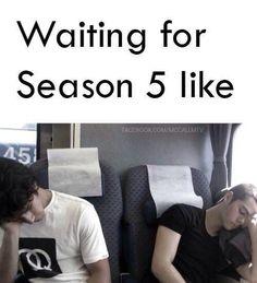 Teen Wolf Season Five Meme